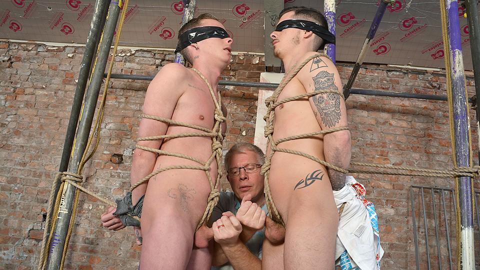 Double Dick Sucking Fun! - Cameron James, Nathan Hope And Sebastian Kane