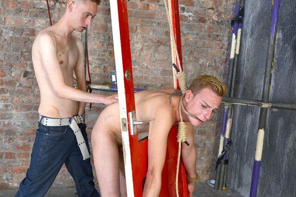 Flogged Fingered And Fucked! - Cameron James and Ashton Bradley