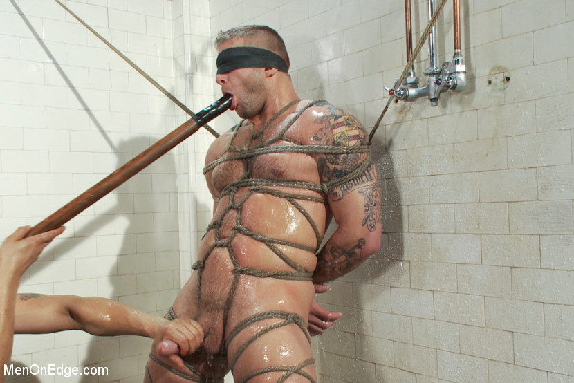 Bdsm Stud Flogged During Edging Fetish