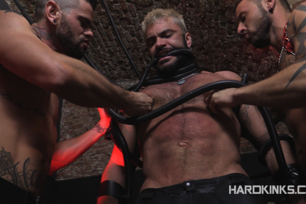 Antonio Miracle, Mario Domenech and Rogan Richards