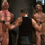 Patrick Rouge, Tommy Defendi and Van Darkholme
