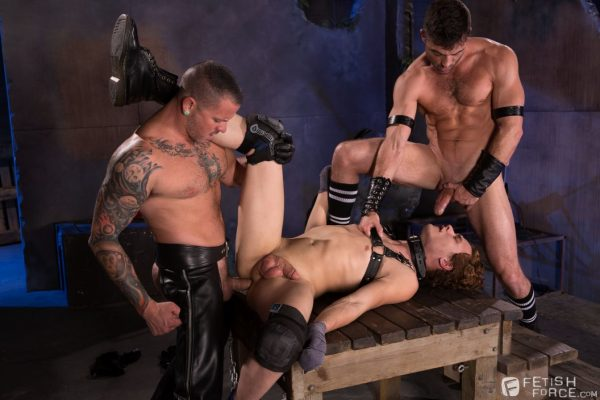 Lance Hart, Micky Mackenzie and Max Cameron Gay BDSM - Part 2 6