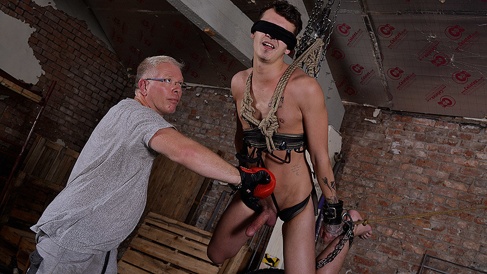 Hung Boy Takes A Beating: Charley Cole