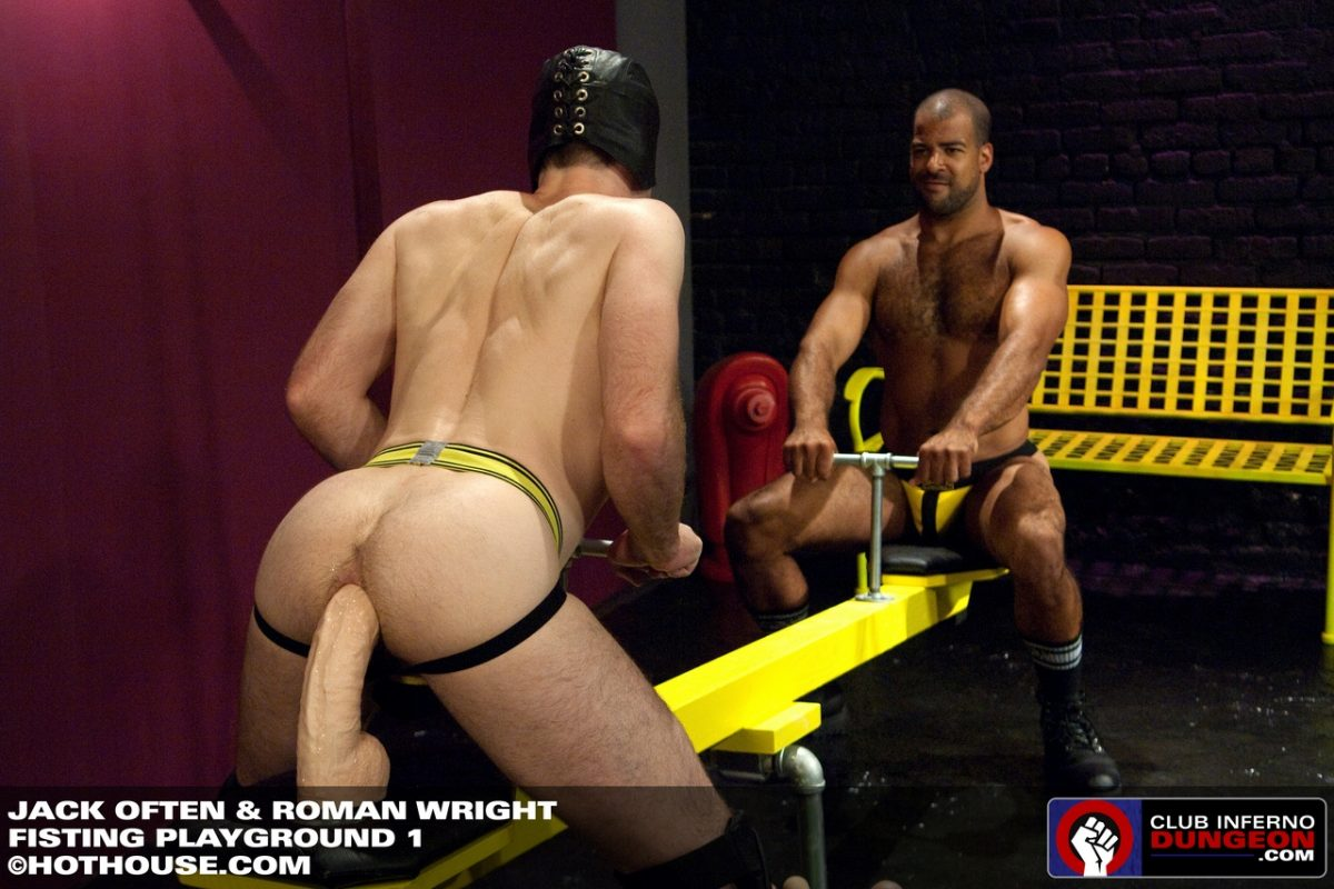 Gay Hole Stretching: Jack Often and Roman Wright