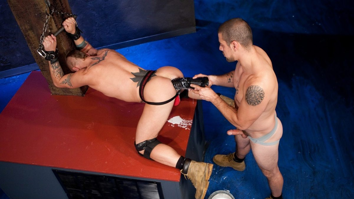 Gay Fisting: Dominic Sol and Cylus Kohan