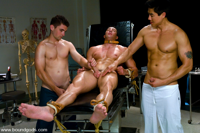 Romario Faria, TJ Young and Van Darkholme