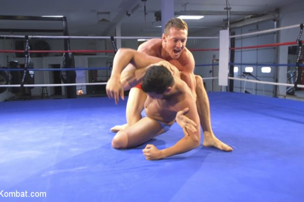 Gay Wrestling:  Kaden Alexander and Pierce Hartman