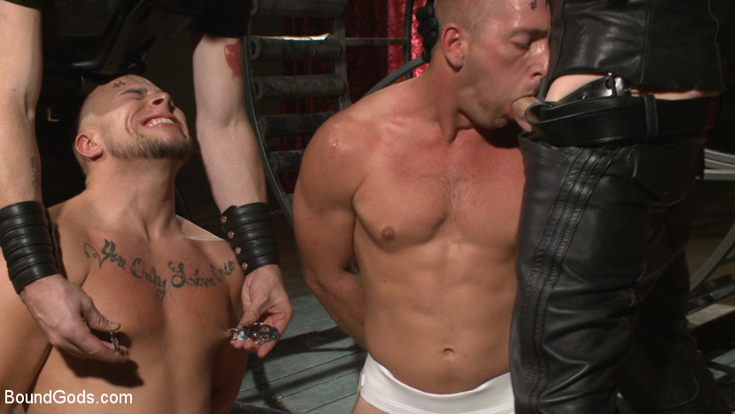 Christian Wilde, Sebastian Keys, Scott Riley and Eli Hunter