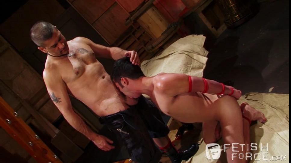 Gay BDSM: Tony Buff and Chase Young