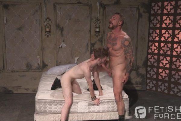 Gay BDSM: Rocco Steele Uses Seamus O'Reilly
