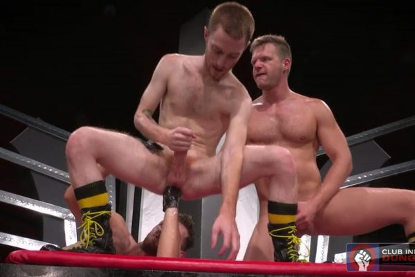 Gay Fisting: Brian Bonds, Jacob Peterson and Seamus O'Reilly