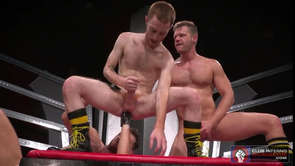 Gay Fisting: Brian Bonds, Jacob Peterson and Seamus O'Reilly