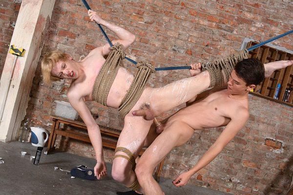 Johannes Gets It Rough! - Johannes Lars and Titus Snow