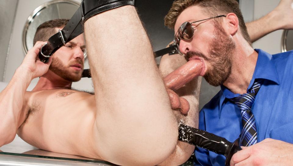 Gay Dildo: Cameron Cole and Parker Kane