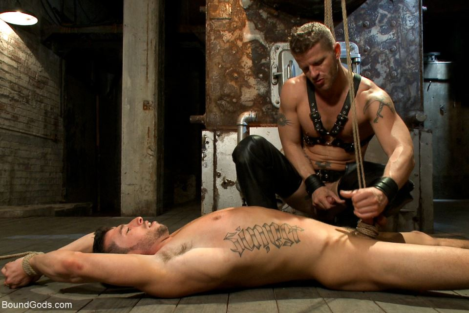 Jeremy Stevens and Casey More - Gay BDSM Session Part 1 6