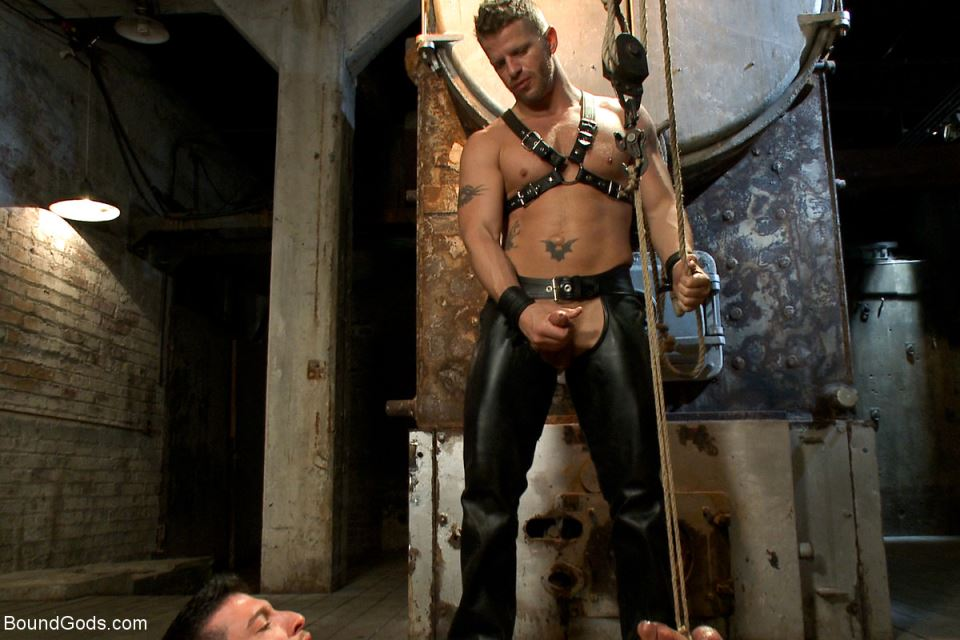 Jeremy Stevens and Casey More - Gay BDSM Session Part 1