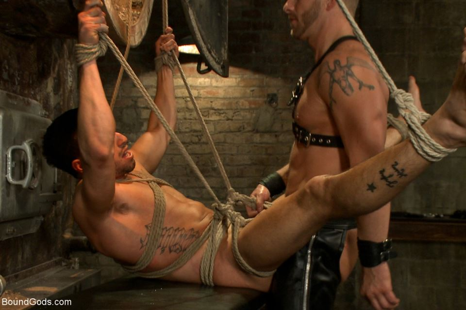 Jeremy Stevens and Casey More - Gay BDSM Session