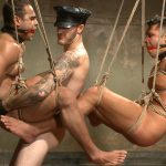 Leather Master Christian and Van Humiliate and Abuse Seth and Brock - Part 2