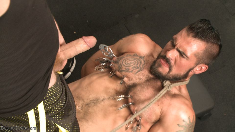 Aarin Asker's Gay BDSM Photo Session