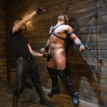 Muscle Stud Chad Stone Gets Abused by Sadistic Masters Dominic Pacifico and Sebastian Keys - Part 1