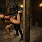 Muscle Stud Chad Stone Gets Abused by Sadistic Masters Dominic Pacifico and Sebastian Keys – Part 2