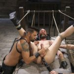 Edging Hunter Samson (Pictures)