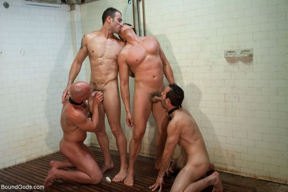 Downsizing: A Gay BDSM Orgy