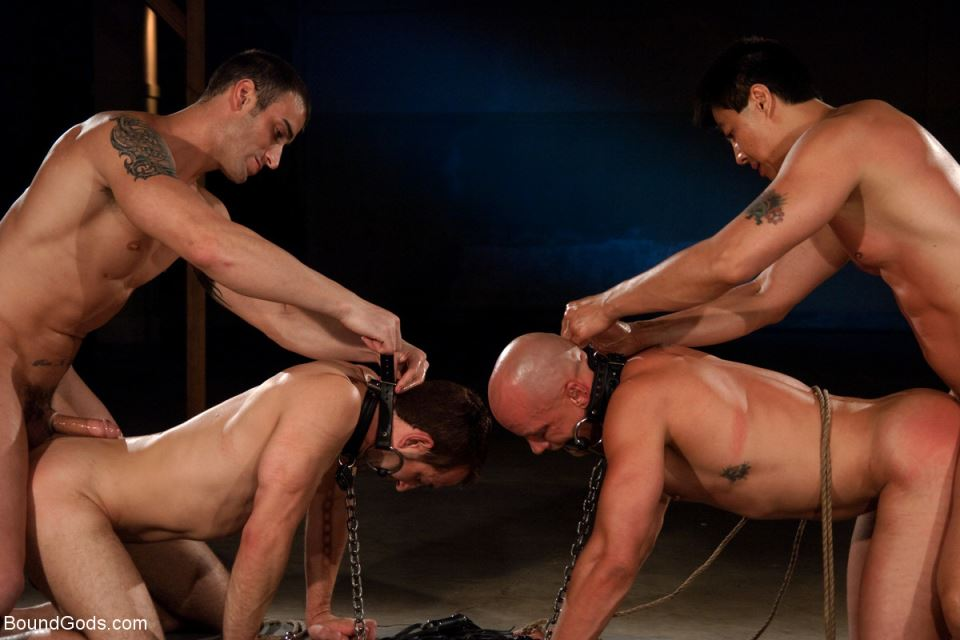 Downsizing: A Gay BDSM Orgy 20