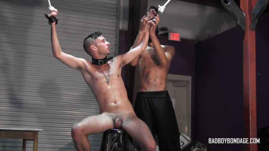 Gay BDSM session with Luva & Calvin