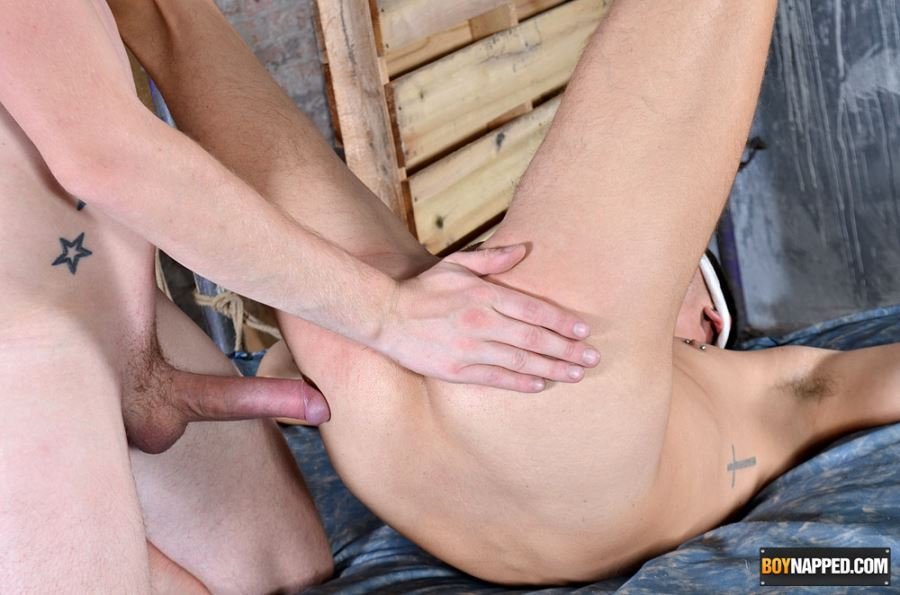 Xavier Sibley - Ass Stretched and Face-Fucked by BDSM Master Sean Taylor