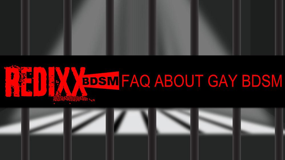 FAQ About Gay BDSM