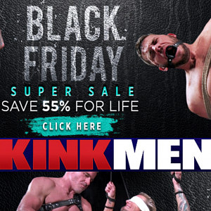 KinkMen Black Friday Discount