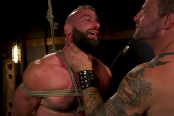 Leather & Latex: Colby Jansen Dominates Donnie Argento For Bound Gods