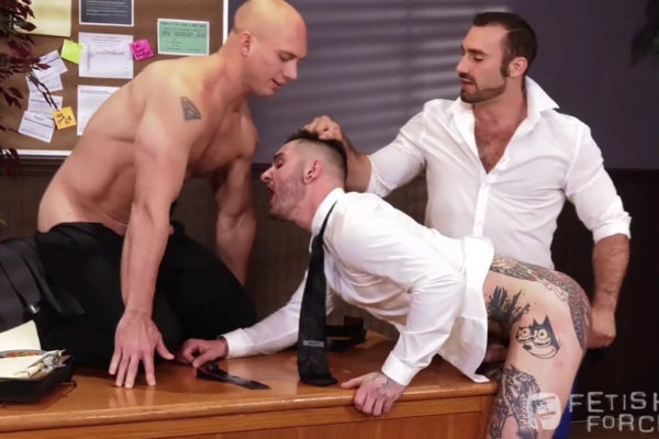 Sexual His ASSment - Scene 1: Jaxton Wheeler, Teddy Bryce and John Magnum
